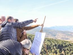 Lecture de paysage à proximité de la route du Puigmal